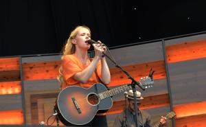 Tina Dickow & Søren Huss @ Grøn Koncert 2015
