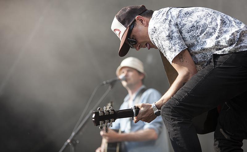 De Eneste To Stor Scene Nibe Festival 2015 (Foto: Mikkel Werenberg/Nibe Festival)