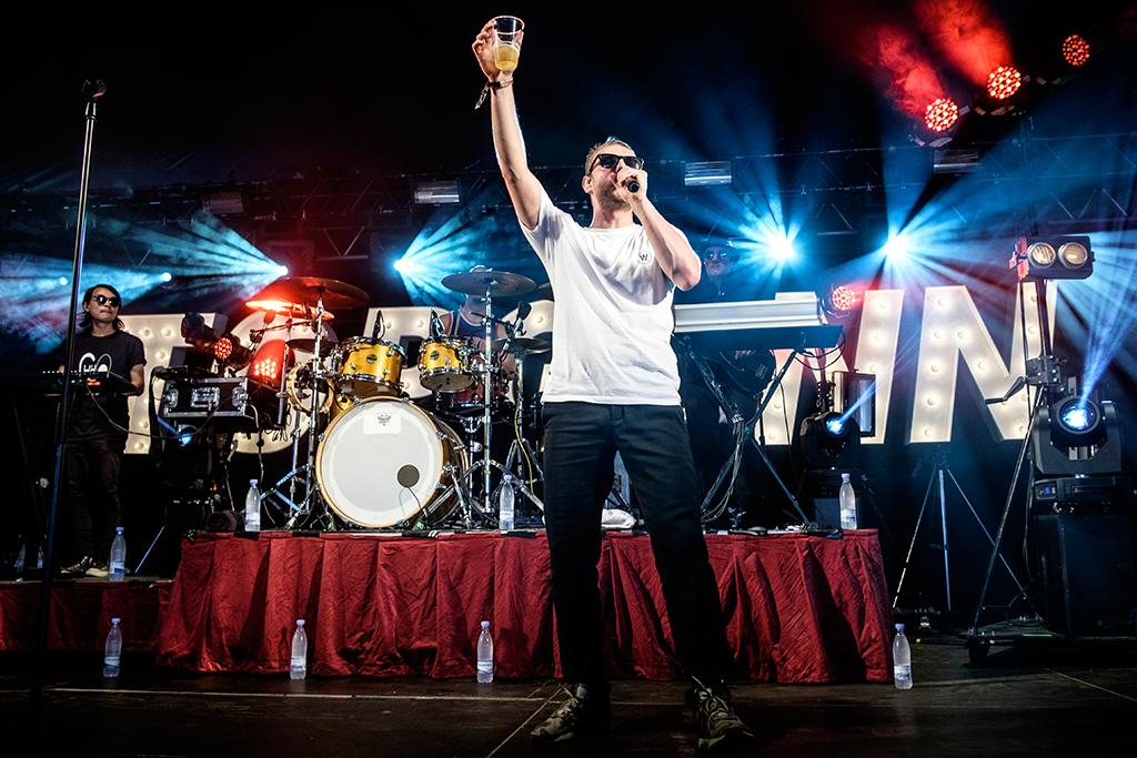 TopGunn på Nibe Festival 2015 (Fotograf: Rasmus Svendsen)