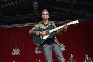 Mads Langer @ Grøn Koncert, Aalborg d. 24 juli 2016 (Foto: Brian Virenfeldt)