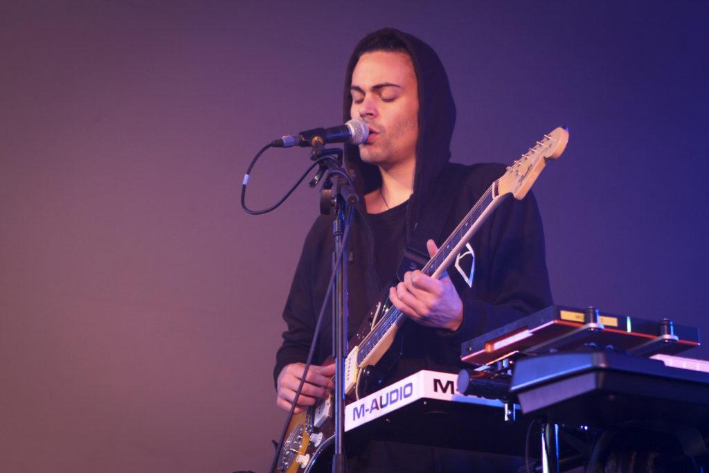 Alex Vargas på Nibe festival 2016 (Foto. Nichlas Stilling Hansen)