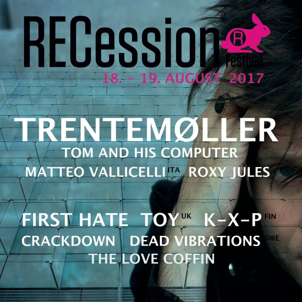 RECession 2017 på Radar/Voxhall d. 18 og 19 august i Aarhus